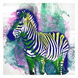 Zebra Henna Posters by OnRei OnRei