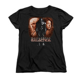 Womans: Battle Star Galactica- Created By Man Shirt