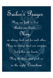 Sailor's Prayer 2 Posters by Sheldon Lewis