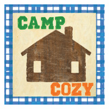 Cozy Cabin Poster by Taylor Greene