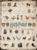 Harry Potter Icons 1,000pc Puzzle Jigsaw Puzzle