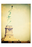 Statue Liberty 1 Posters par Ashley Davis