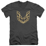 Pontiac- Iconic Firebird Emblem V-Neck T-shirts