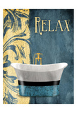 Tub Relax Print by Jace Grey