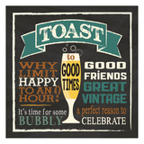 Toast Chalk 1 Prints by Melody Hogan