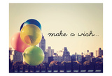 Make A Wish NYC Affiches par Ashley Davis