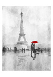 Paris In The Rain Prints by OnRei OnRei