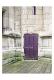 Purple Cluny 1 Prints by Tracey Telik