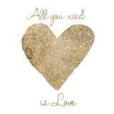 Love Is All You Need Posters by Victoria Brown