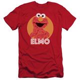 Sesame Street- Smiley Elmo (Slim Fit) T-Shirt