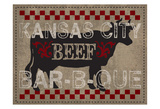 Kansas Beef BBQ Print by Melody Hogan