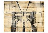 Wood Bridge Art by Jace Grey