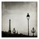 Paris Skyline Poster by Tracey Telik
