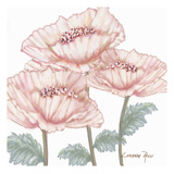 Pink Poppies 2 Art by Lorraine Rossi