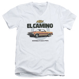 Chevy- El Camino Incredible Truck V-Neck T-Shirt