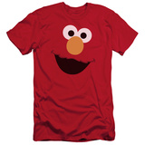 Sesame Street- Big Elmo Face (Slim Fit) T-Shirt