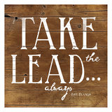 Take the Lead Poster by Jace Grey