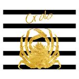Golden Crab Prints by Sheldon Lewis