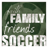 Soccer Friends Prints by Lauren Gibbons