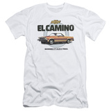 Chevy- El Camino Incredible Truck (Slim Fit) T-shirts