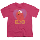 Youth: Sesame Street- Big Heart Elmo T-shirts