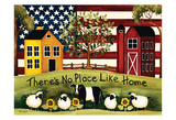 No Place Like Home Prints by Laurie Korsgaden