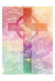 Watercolor Cross Words 2 Posters af Melody Hogan