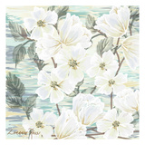 White Water Flowers 2 Prints by Lorraine Rossi