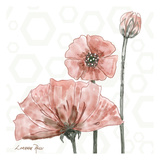 Poppy Umbrella 1 Print by Lorraine Rossi