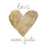 Love Never Fails Posters by Victoria Brown