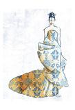 Oriental Dress Poster di OnRei OnRei