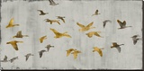 In Flight Lærredstryk på blindramme af Nick Spencer