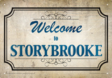 Once Upon A Time - Storybrooke Tin Sign
