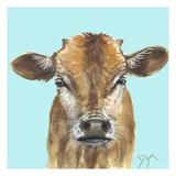 Little Bull Blue Posters par Beverly Dyer