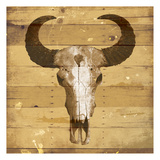 Rustic Bull Prints by Jace Grey