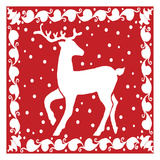 Oh Deer Prints by Laurie Korsgaden