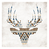 Aztec Deer No Background Prints by Jace Grey
