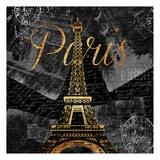 Script Paris Dold Posters by Jace Grey