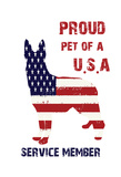 Patriotic Pet Posters by Sheldon Lewis