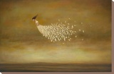 Freeform Stretched Canvas Print by Duy Huynh