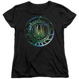 Womans: Battle Star Galactica- Stellar Insignia T-Shirt