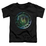 Toddler: Battle Star Galactica- Stellar Insignia T-Shirt