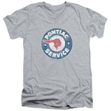 Pontiac- Vintage Pontiac Service V-Neck T-shirts