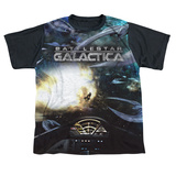 Youth: Battle Star Galactica- Viper Cockpit Black Back Shirt