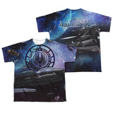 Youth: Battle Star Galactica- Desperate Odessy (Front/Back) Shirts