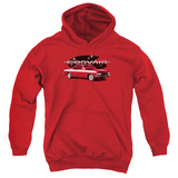 Youth Hoodie: Chevy- 65 Corvair Mona Spyda Coupe Pullover Hoodie