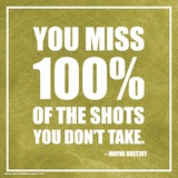 Wayne Gretzky- The Shots You Don'T Take Print