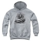 Youth Hoodie: Chevy- Monte Carlo Luxury On Wheels Pullover Hoodie
