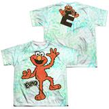 Youth: Sesame Street- Dancing Elmo (Front/Back) Shirts