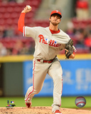 Aaron Nola 2016 Action Photo